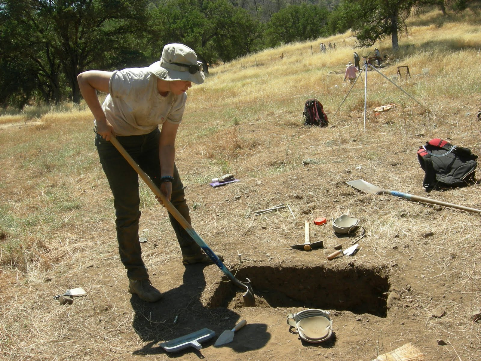 Cabrillo College Archaeology Field School, Day 17 – July 6, 2010 ...