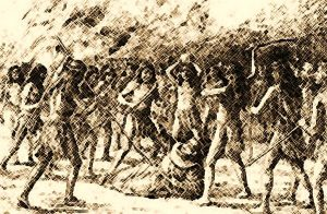 Native_American_Indian_Tribes_Yuma _ Beating a Padre